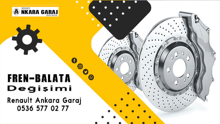 Fren ve balata- Renault Ankara Garaj