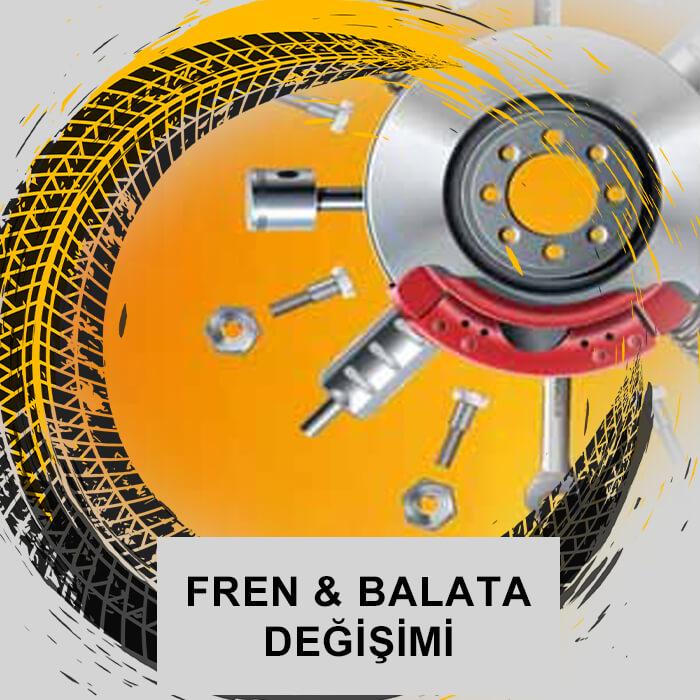 Ankara garaj - Fren Balata değişim