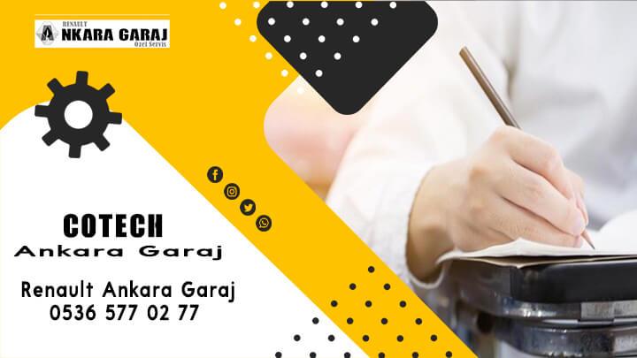 Cotech 2 - Renault Ankara Garaj