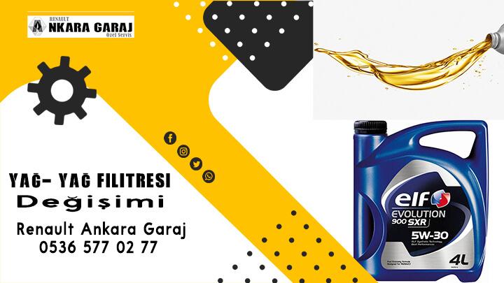 Yağ-yağ filitresi - Renault Ankara Garaj